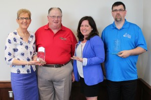 F&E PEI Outstanding Volunteer of the Year Recipients